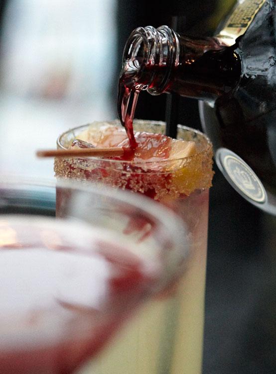 Specialty Cocktails Bar Menu Blacksalt Restaurant